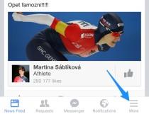 Jak vypnout zvuky v aplikaci Facebooku?